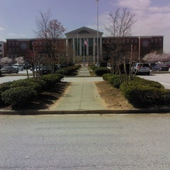 Photo taken at Clayton County Justice Center by Amerido B. on 4/8/2013