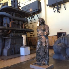 Photo taken at Centrale Montemartini by CFM V. on 9/28/2014