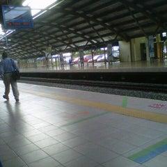 Photo taken at KTM Line - Kepong Sentral Station (KA07) by Zaimy Azwa A. on 10/17/2012