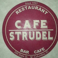 Photo taken at Cafe Strudel by Ian R. on 10/15/2012