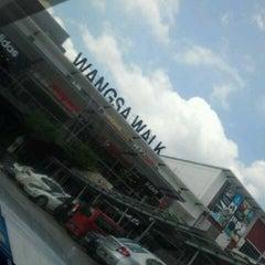 Photo taken at Wangsa Walk Mall by Atiqa' R. on 7/10/2013