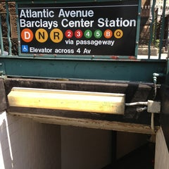 Photo taken at MTA Subway - Atlantic Ave/Barclays Center (B/D/N/Q/R/2/3/4/5) by Ana @YummyAna on 6/9/2013