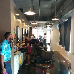 Photo taken at No Grease Barbershop by Dave J. on 7/10/2014