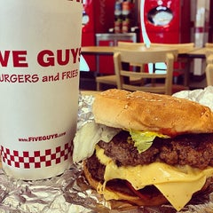 Photo taken at Five Guys by Kyle J. on 8/13/2014