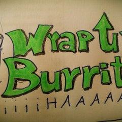Photo taken at Wrap Up Burritobar by Maxim H on 1/23/2013