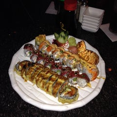 Photo taken at Wasabi Japanese Steakhouse & Sushi Bar by ChrisW0521 @. on 3/9/2014