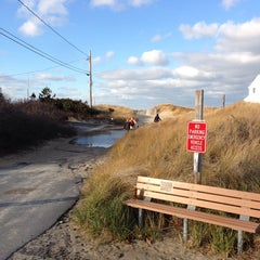 Photo taken at Sea Street Beach by Hilary B. on 12/7/2013