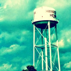 Photo taken at Water Tower At Henning by Fran D. on 6/18/2013