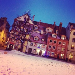 Photo taken at Vecrīga | Старая Рига | Riga Old town by Snezhanna A. on 3/3/2013