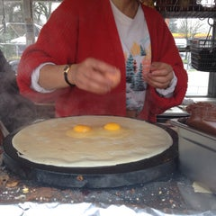 Photo taken at Perierra Crêperie by John G. on 12/23/2014