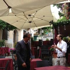 Photo taken at La Tavernetta by Robert T. on 5/16/2013