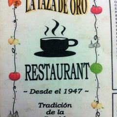Photo taken at La Taza De Oro by Cristian on 1/3/2013