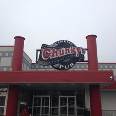 Photo taken at Chunky's Cinema Pub by James M. on 12/9/2012
