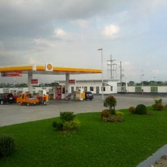 Photo taken at Shell by Jay D. on 10/12/2012
