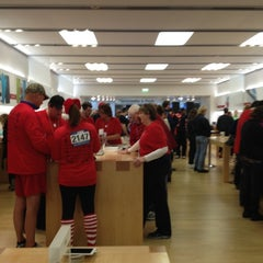 Photo taken at Apple Store, West County by Diane S. on 12/8/2012