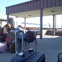 Photo taken at Richmond Amtrak Station (RVR) by Mokhamad N. on 11/8/2012