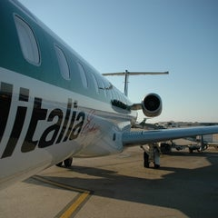 "Photo taken at Aeroporto Roma Fiumicino ""Leonardo da Vinci"" (FCO) by Eckart D. on 6/15/2013"
