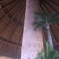Photo taken at Gran Bahia Principe Tulum by Ryan F. on 2/21/2013
