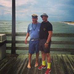 Photo taken at Avon Fishing Pier by Michael M. on 7/16/2014