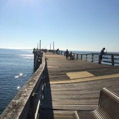 Photo taken at Avon Fishing Pier by Michael M. on 7/13/2014
