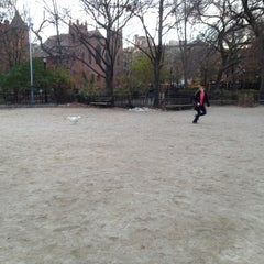 Photo taken at Tompkins Square Park Dog Run by Sam D. on 11/24/2012