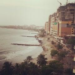 Photo taken at Hotel Decameron Cartagena by Pilar M. on 7/26/2014