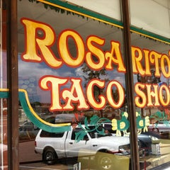 Photo taken at Rosarito's Mexican Food by Katrin on 4/6/2013