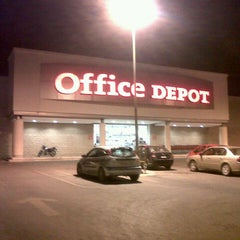 Photo taken at Office Depot by Juan M. on 1/20/2013