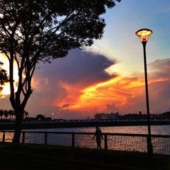 Photo taken at Woodlands Waterfront by Guosheng on 3/16/2013
