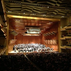 Photo taken at David Geffen Hall by Supisara C. on 5/28/2013
