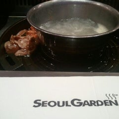 Photo taken at Seoul Garden by Siti Asmah D. on 9/27/2012