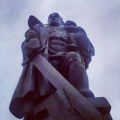 Photo taken at Treptower Park by Sebastián M. on 1/1/2013