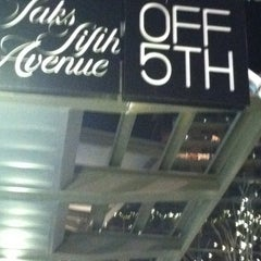 Photo taken at Saks Fifth Avenue OFF 5TH by Tiff L. on 12/18/2012