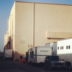 Photo taken at Sony Pictures Studios Stage 30 by Lisa R. on 12/8/2012
