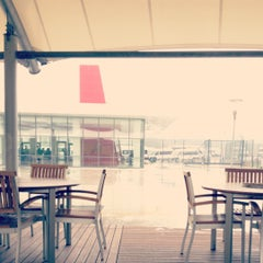 Photo taken at ABM Cafe Acikhava by Esra T. on 12/17/2012