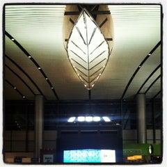 Photo taken at Rajiv Gandhi International Airport (HYD) by Yogesh D. on 10/5/2012