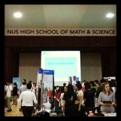 Photo taken at NUS High School of Math & Science by Alvin Ang on 5/28/2013
