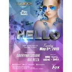 Photo taken at X2 Club, EGO, equinox, DIAGONALE by Maya Soekandar on 5/5/2015