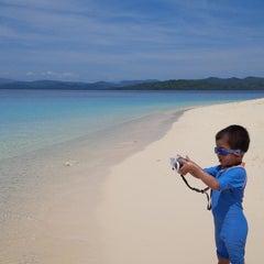 Photo taken at Pulau Lihaga (Lihaga Island) by D'watz P. on 7/30/2014