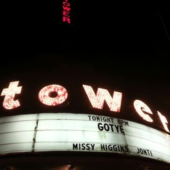 Photo taken at Tower Theater by JD B. on 9/30/2012