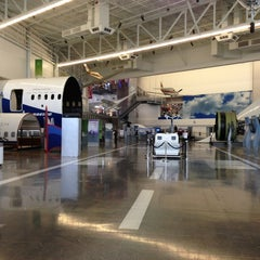 Photo taken at Future of Flight Aviation Center & Boeing Tour by Ali A. on 10/7/2013