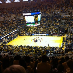 Photo taken at WVU Coliseum by Ron S. on 1/5/2013