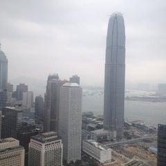 Photo taken at Two ifc 國際金融中心二期 by John K. on 4/19/2015