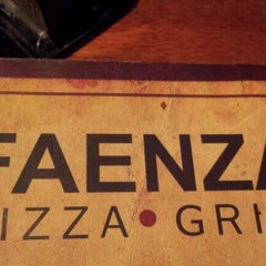 Photo taken at Faenza Pizza & Grill by Flavia B. on 10/21/2012