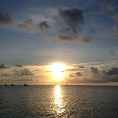 Photo taken at Pulau Layang-layang by Matt T. on 4/26/2013