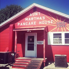 Photo taken at Aunt Martha's Pancake House by Sarah T. on 5/22/2012