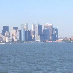 Photo taken at New York Harbor by Mari✨ on 7/6/2012