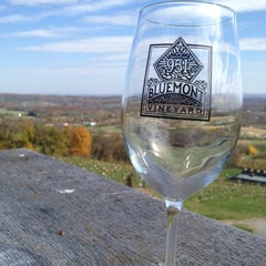 Photo taken at Bluemont Vineyard by Samantha M. on 10/24/2012
