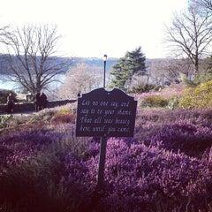 Photo taken at Heather Garden by Brian B. on 4/6/2013