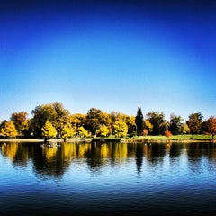 Photo taken at Washington Park by Mark H. on 10/15/2012